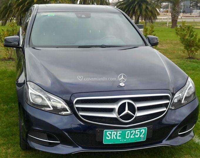 Mercedes Benz Clase C Azul