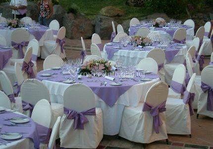 Mesas para matrimonio
