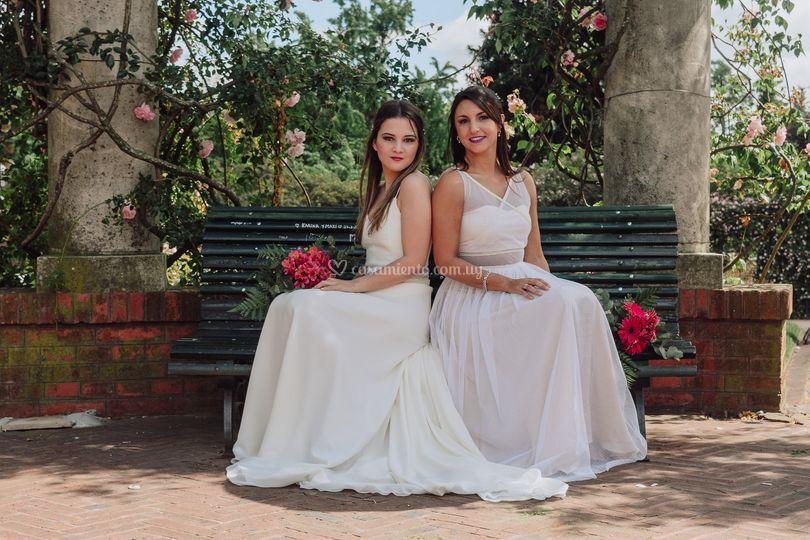 Vestidos Flor y Gregoria