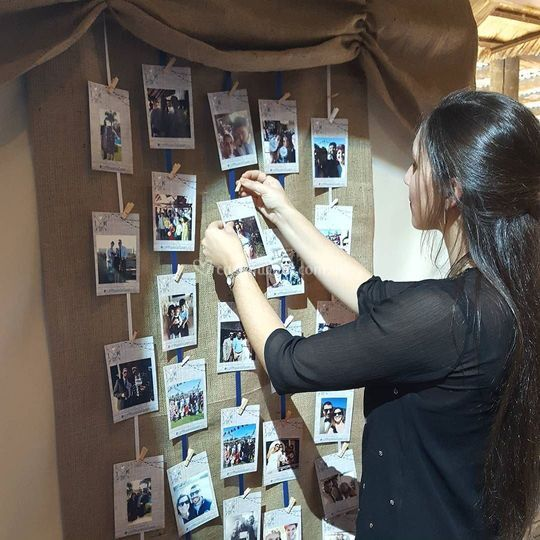 Exposición de fotos impresas