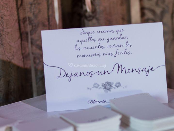 Mensajes de los invitados