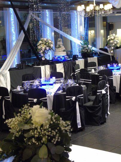boda en blanco y negro de manhattan decoraciones | foto 136
