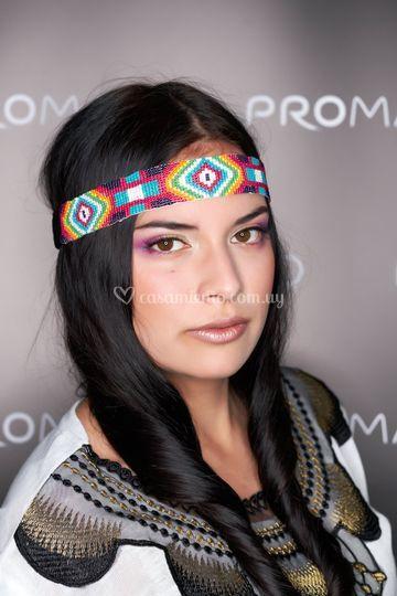 Maquillaje moda o pasarela