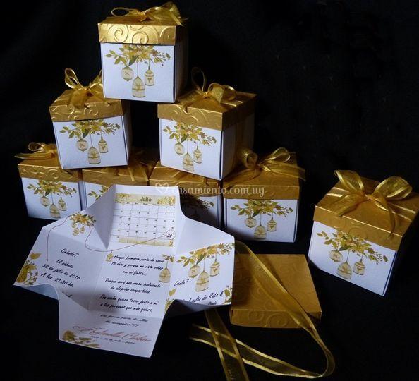 Caja invitación o Souvenirs