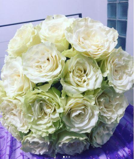Ramo de novio en rosas
