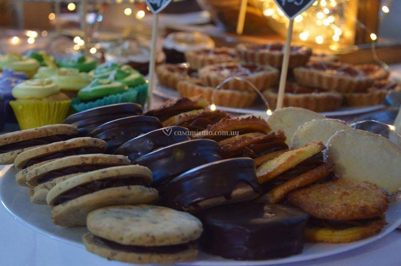 Alfajores (mesa dulce)