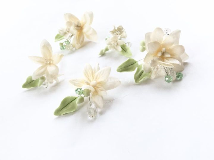 Tocado en flores