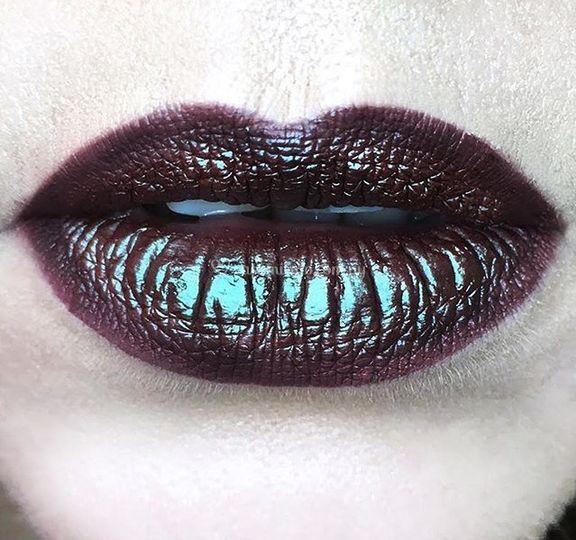 Makeup labios con pigmento