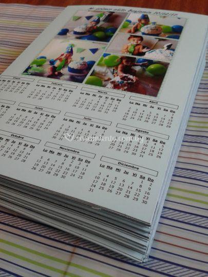 Souvenir Calendario