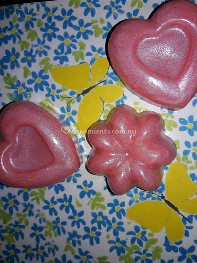 Formas de corazón