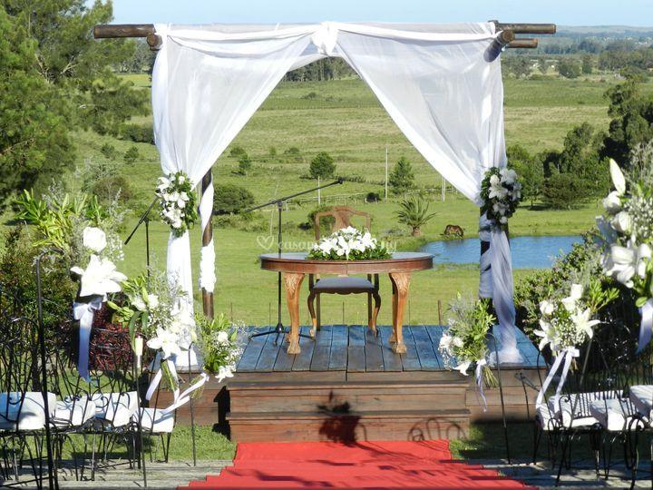 Ceremonias en el campo
