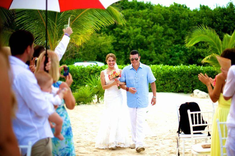 Casamiento en Playa del Carmen