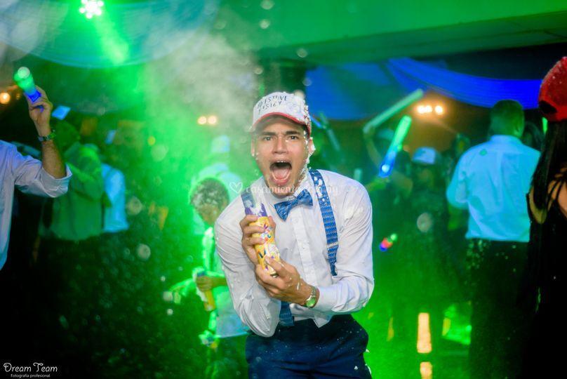 Fotografía en la fiesta