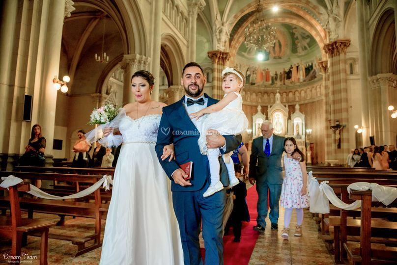Fotografía en la iglesia