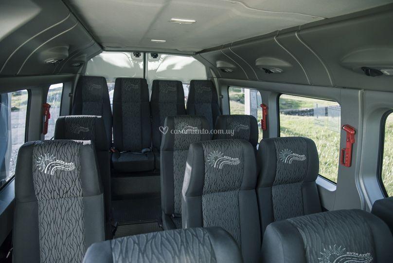 Interior 15 pasajeros