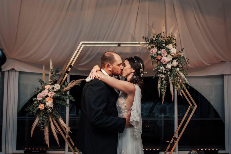 Altar arco de boda
