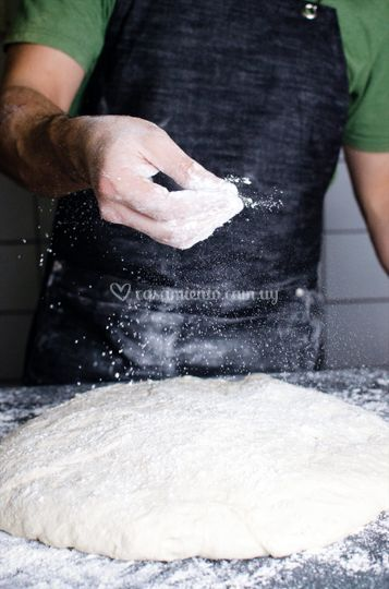Masas de larga fermentación
