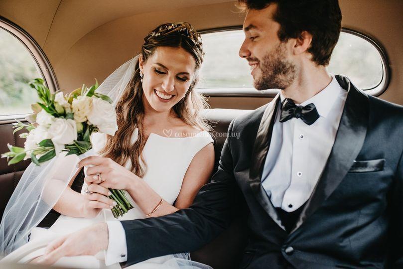 Peinado & tocado de novia