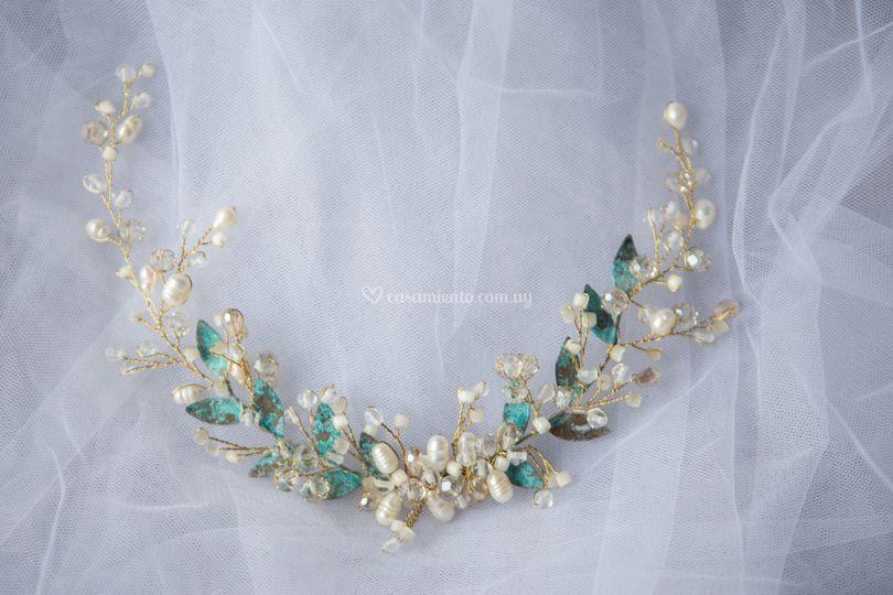 Perlas de río y óxido