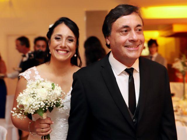 El casamiento de Daniela y Sergio