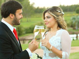 El casamiento de Stephanie y Martín