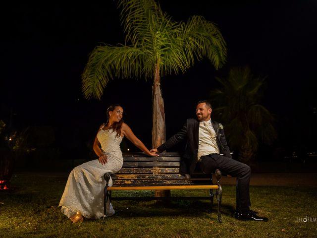 El casamiento de Carina y Mathías