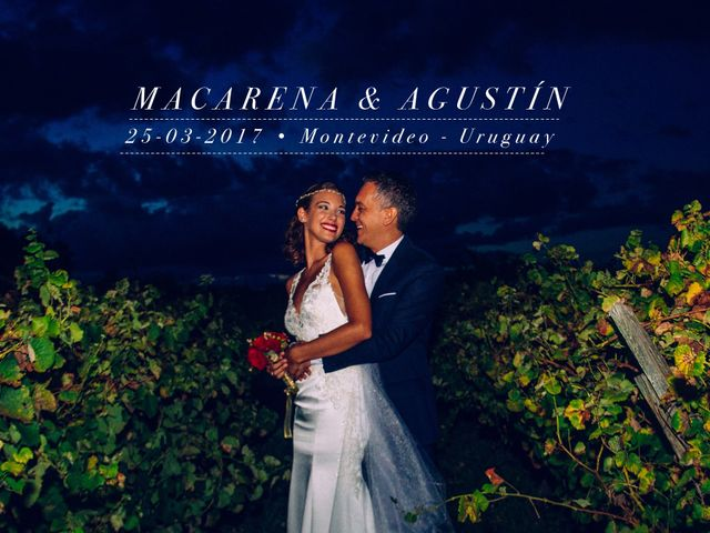 El casamiento de Macarena y Agustín