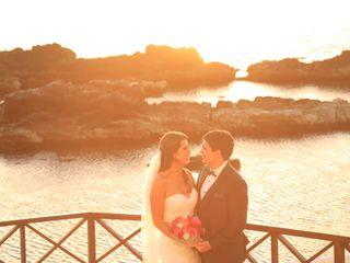 El casamiento de Gisella y Gastón