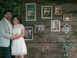 El casamiento de Estefany y Gabriel