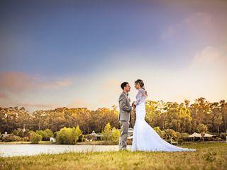 El casamiento de Gisela y Alejandro