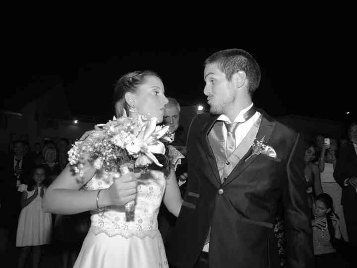 El casamiento de Vivi y Leandro