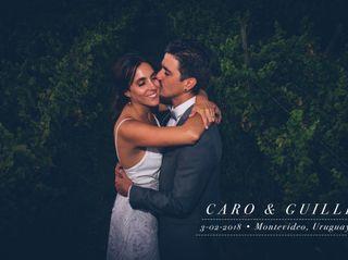 El casamiento de Caro y Guille 1