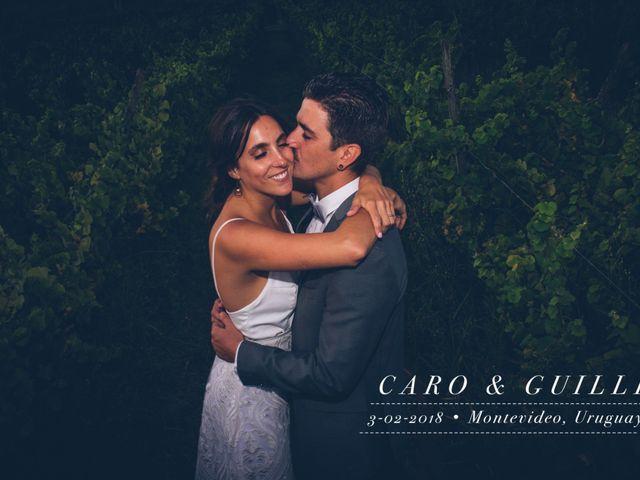 El casamiento de Caro y Guille