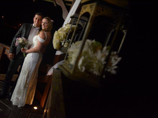 El casamiento de Magela y Diego