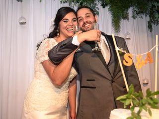 El casamiento de Stefany y Andrés