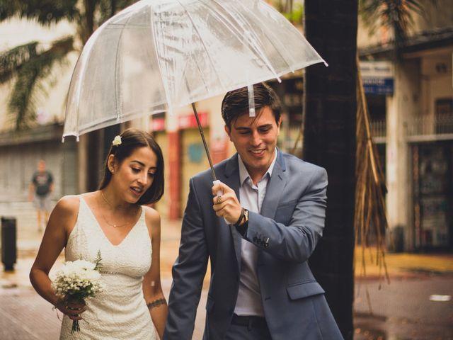 El casamiento de Fiorella y Jorge