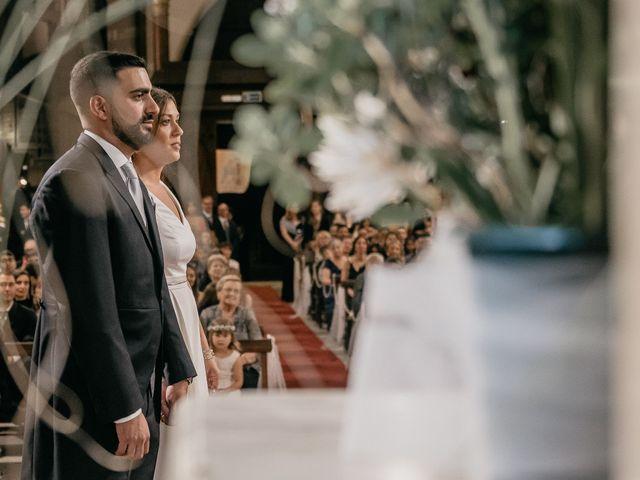 El casamiento de Victoria y Claudio