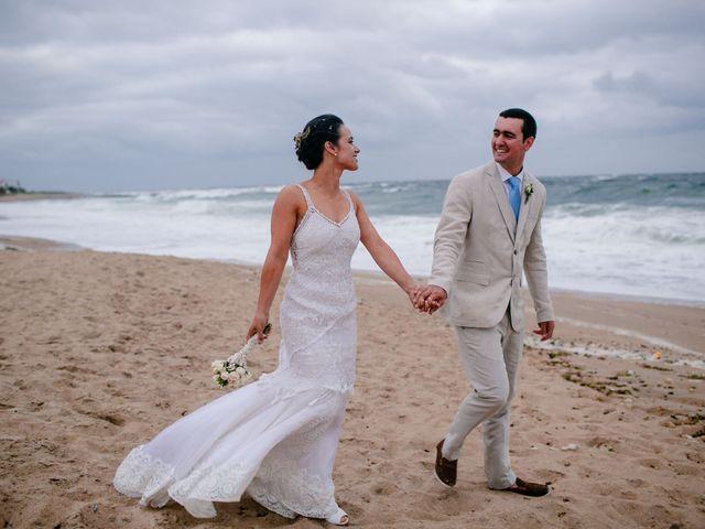 El casamiento de Carminia y Hernán