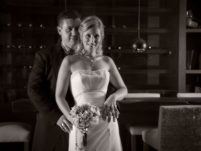 El casamiento de Marilyn y Leo