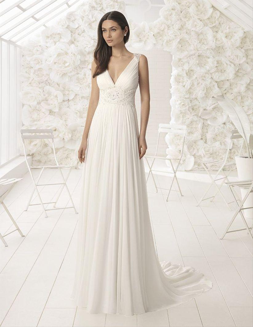 d094473579 50 vestidos de novia sencillos  naturalidad para tu look