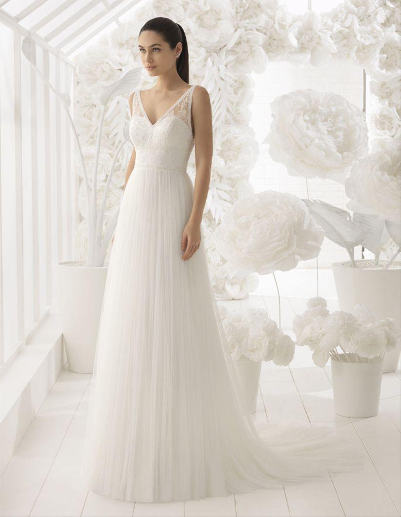 Vestidos de novia para estilizar la figura