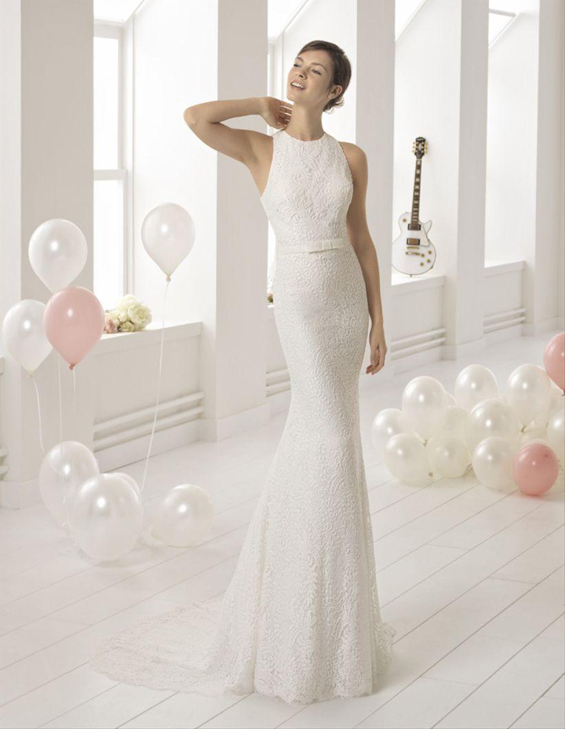 Modelos de vestidos de novia sencillos cortos