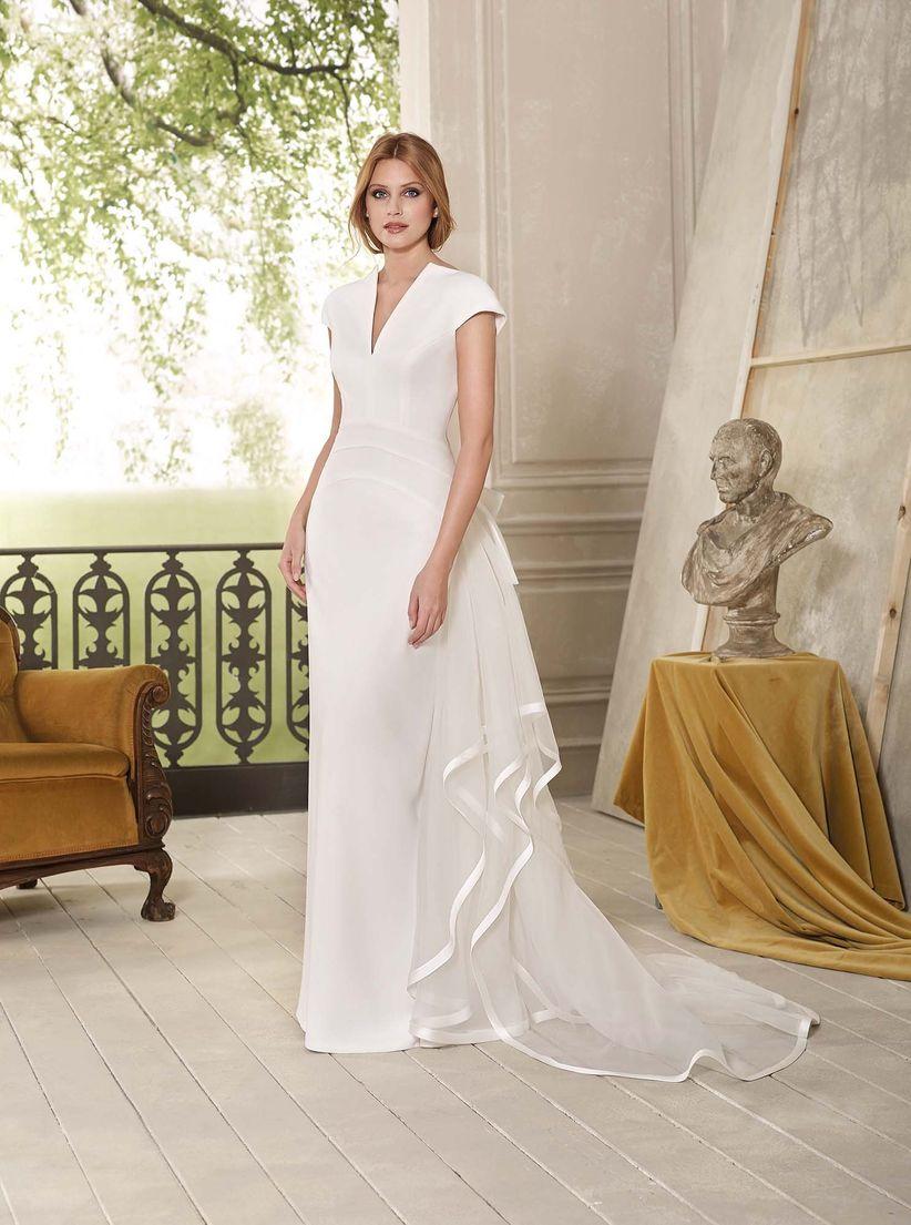 358c05803c 50 vestidos de novia sencillos  naturalidad para tu look