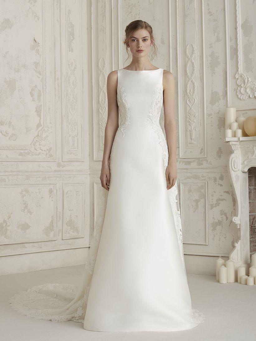 Vestidos de novia campestres sencillos