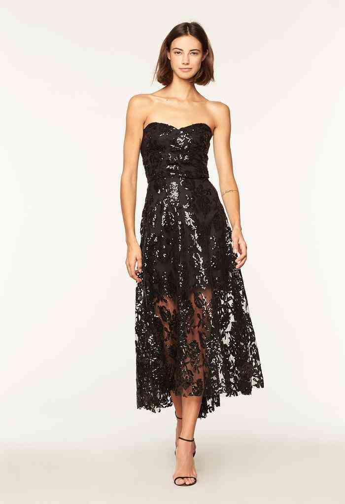 conseguir baratas reputación confiable venta caliente real Vestido de fiesta negro o de color, ¿cuándo elegir cada uno?
