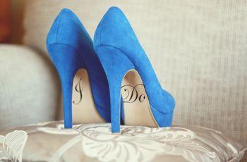7 opciones para darle color a tus zapatos de novia