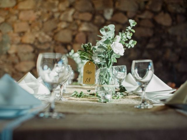 9 ideas económicas para los centros de mesa del casamiento