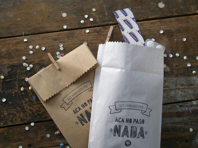 Kit antiresaca: un regalo que sus invitados les van a agradecer