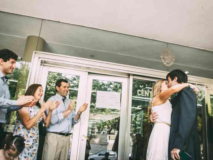 Los testigos de un casamiento civil