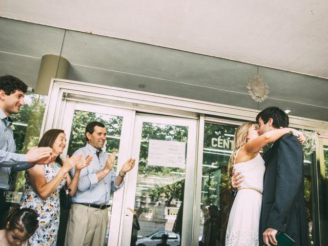 Los testigos del casamiento civil en Uruguay